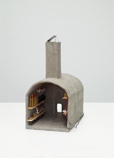 , 'Schuilkelder-atelier met eendekop en Communistische hamer,' 1991-1992, Deweer Gallery