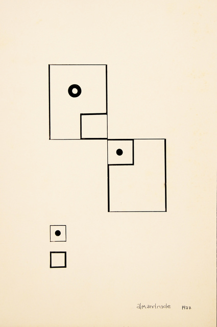 , 'No Title Visual Poem,' 1977, Roberto Alban Galeria de Arte