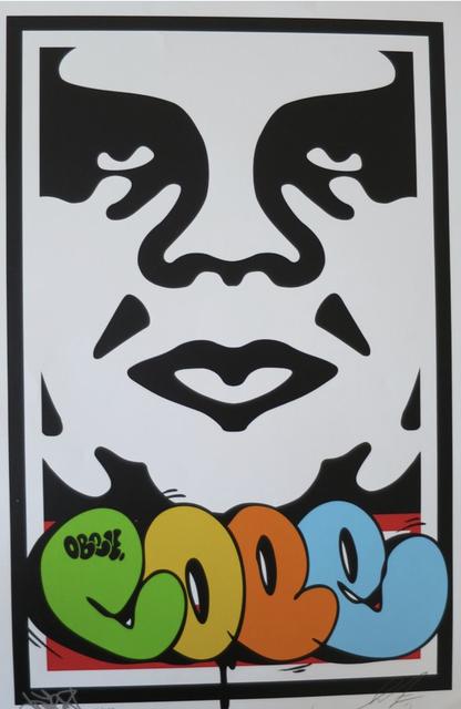 Shepard Fairey, 'Obeycope2 Takeor', 2019, AYNAC Gallery