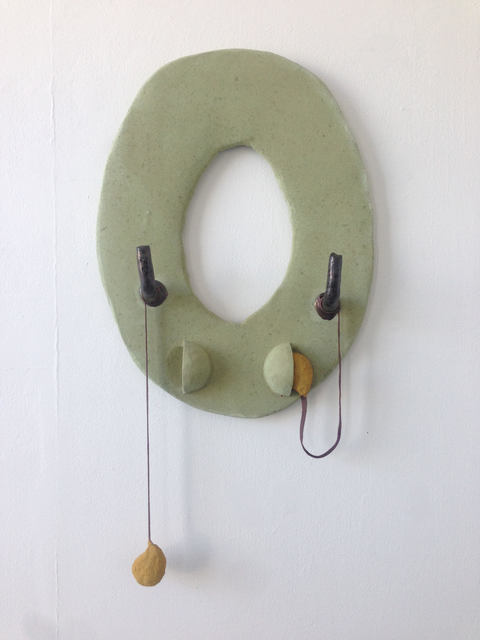 Anna Sew Hoy, 'Utopic Void (Lichen with Earbuds)', 2018, VARIOUS SMALL FIRES