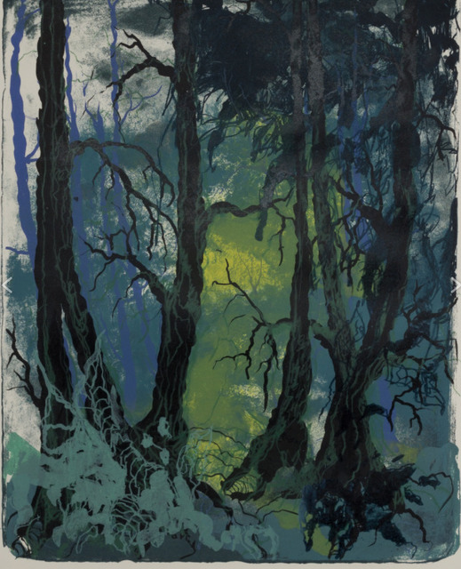 , 'wald X(N)-XXIII,' 2016, galerie burster