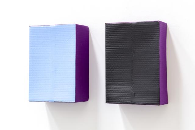 , 'Dix Jours / Dix Nuits (violet),' 1985, Tatjana Pieters