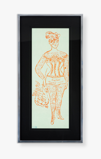 Andy Warhol, 'Tattooed Woman Holding a Rose', Halcyon Gallery