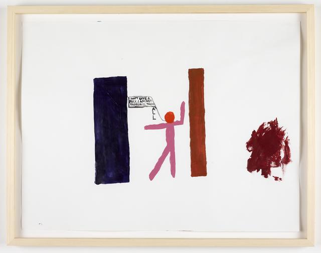 Chris Johanson, 'I Don't Give a Fuck', 2011, Galleri Nicolai Wallner