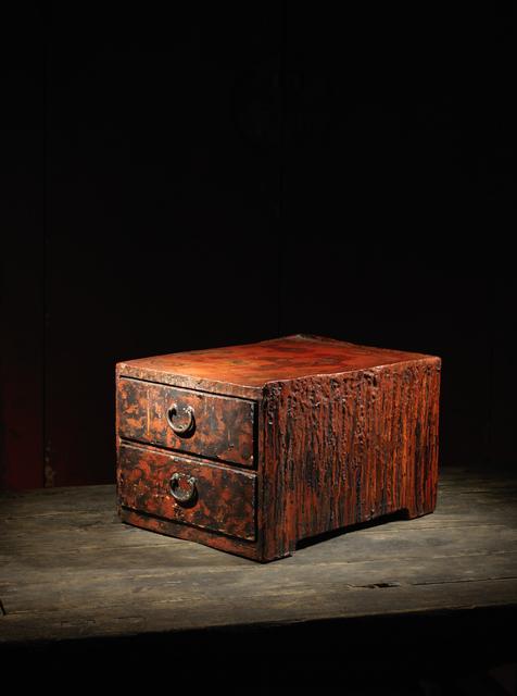 , 'A lacquer smith work table, hikidashi tsuki joban,' Japan: 20th century, Rasti Chinese Art