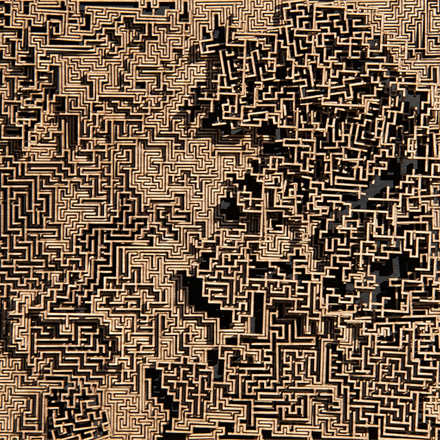 Jared Tarbell, 'HIGH DISORDER MAZE', 2019, Gallery Fritz