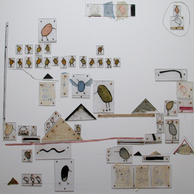 Michel Flamme, 'Birds and pyramids', 2017, Art Center Horus