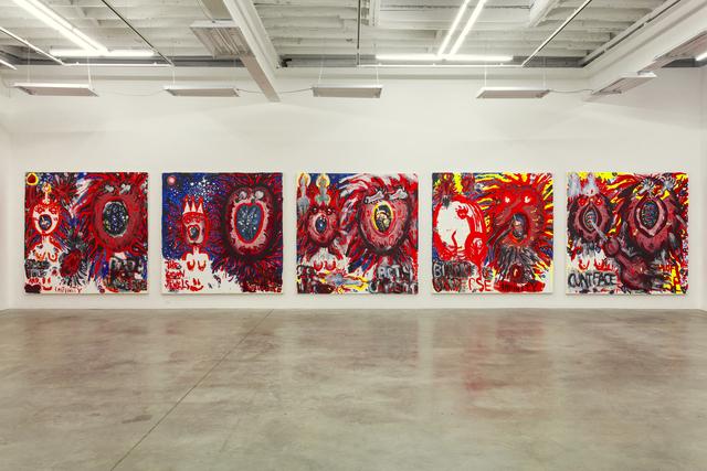, ''Judith Bernstein: Birth of the Universe', 2012. Installation view, Gavin Brown's enterprise, New York, 2013.,' 2013, Studio Voltaire