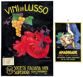 VINI DI LUSSO SOCIETÁ ITALIANA VINI CASALE MONFERRATO Unito a: AMADRIADE CORDIAL TONICO ECCITANTE
