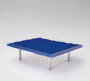 "Yves Klein, '""Table bleue"",' designed 1961, Phillips: Design"