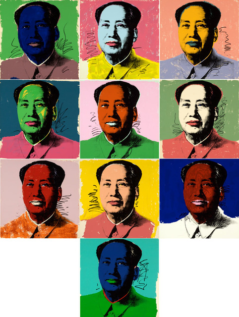 Andy Warhol, 'Mao #90-99 (suite of 10 prints)', 1972, Martin Lawrence Galleries