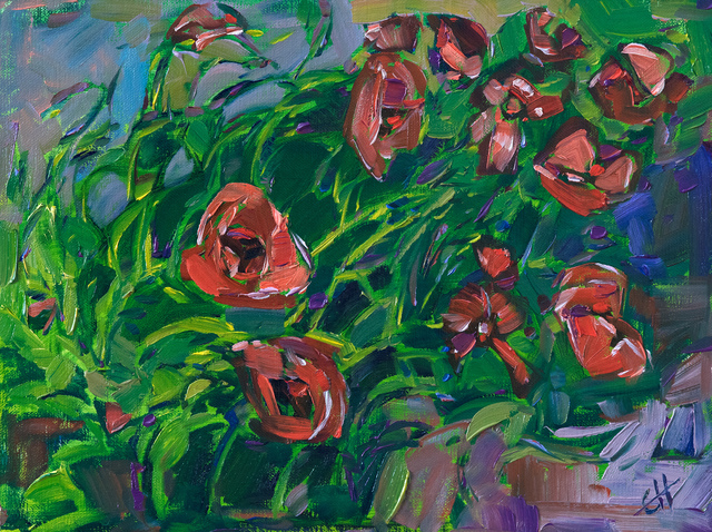 , 'Wave of Poppies,' 2017, The Erin Hanson Gallery
