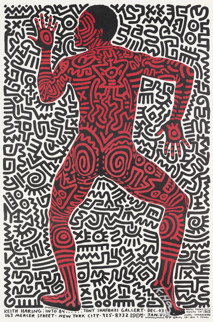 Keith Haring, 'KEITH HARING: INTO 84', 1983, Swann Auction Galleries