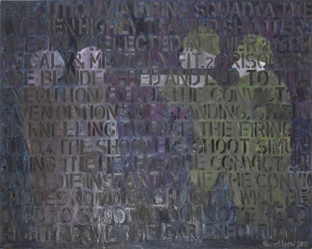 , 'The Executioner,' 2015, iPreciation