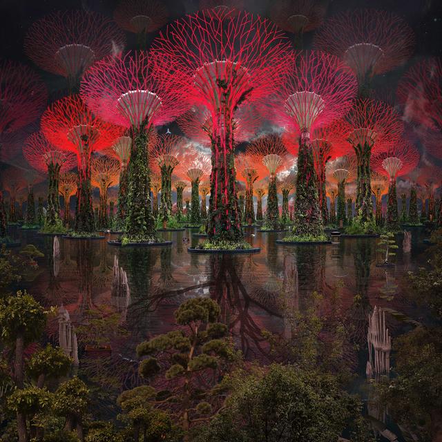 , 'Avatar Trees,' 2017, Villa del Arte Galleries