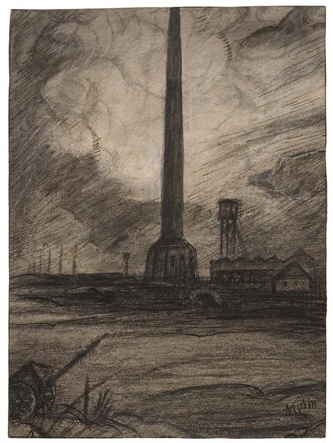 Alfred Kubin, 'Brickworks', 1902-1903, W&K - Wienerroither & Kohlbacher