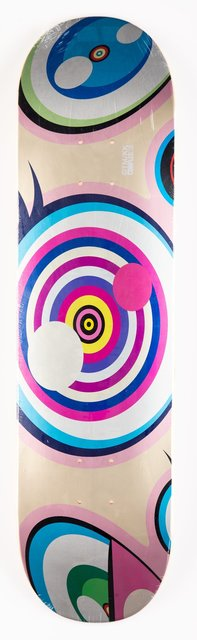 Takashi Murakami, 'Untitled, from Dobtopus', 2017, Other, Screenprint on skate deck, Heritage Auctions