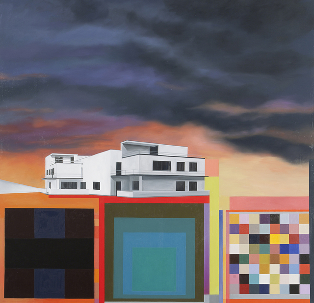 , 'Gropius Landscape (Master's House Kandinsky / Klee II),' 2015, 532 Gallery Thomas Jaeckel