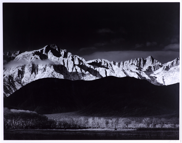 , 'Winter Sunrise, Sierra Nevada from Lone Pine,' 1944, Vision Neil Folberg Gallery