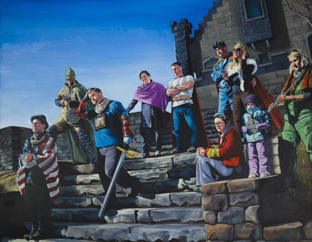 , 'The Fall of Fort Wixon,' 2012, Childs Gallery