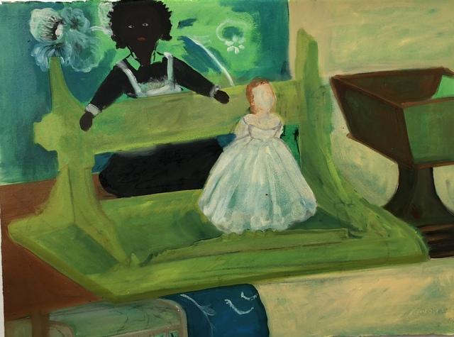 , 'Green Shelf,' 2018, Imlay Gallery