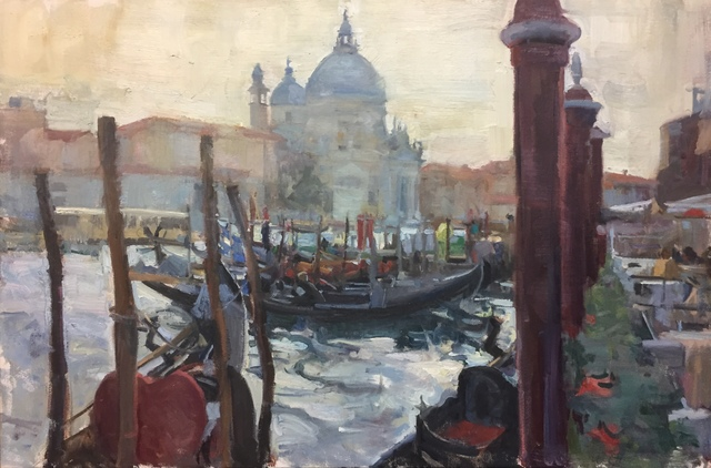 , 'View to Santa Maria della Salute,' 2018, Vail International Gallery