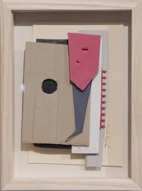 Alfredo and Isabel Aquilizan, 'Fragments after In-Flight: Project Another Country', 2014, Drawing, Collage or other Work on Paper, Cardboard collage, NUNU FINE ART