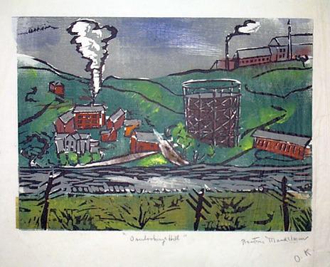 , 'Overlooking Hill,' ca. 1936, David Richard Gallery