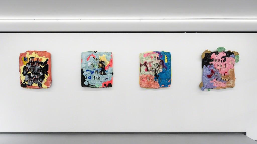 Exhibition view, Wormwood by Folkert de Jong. Valentin, Paris - 2018. © Photo: Grégory Copitet / Courtesy of the artist and Valentin, Paris.