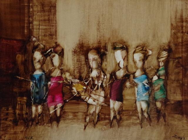 Hayk Gasparyan, 'Abstract Situation Part Two', 2016, Vayer Art