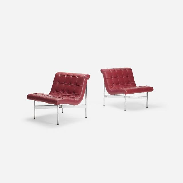 William Katavolos, 'New York lounge chairs, pair', 1952, Wright