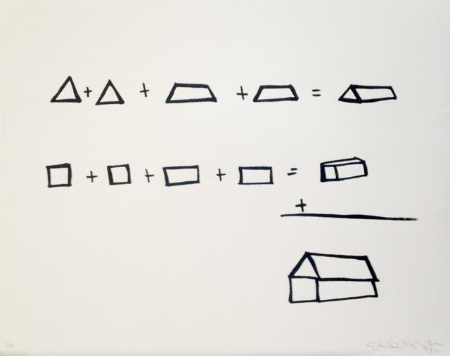 , 'Building a House,' 2014, Ruiz-Healy Art