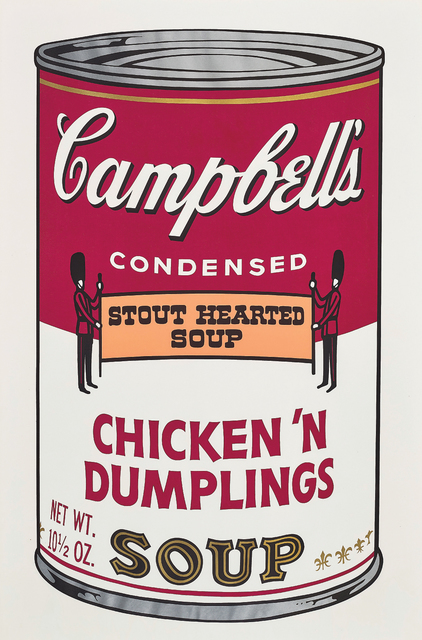 Andy Warhol, 'Chicken 'N Dumplings, from Campbell's Soup II', 1969, Print, Screenprint in colours, on wove paper, with full margins., Phillips