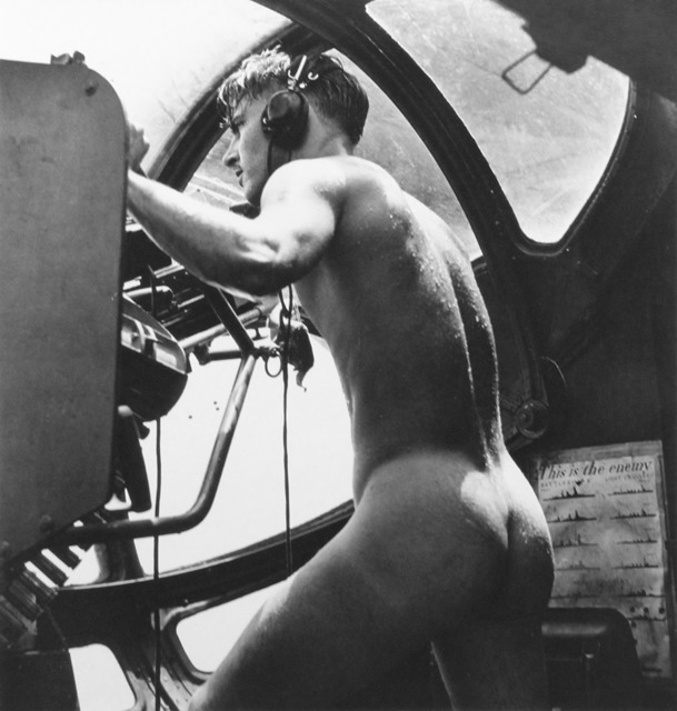 , 'WWII: Rescue at Rabaul 'PBY Blister Gunner,' 1944/1994, ClampArt