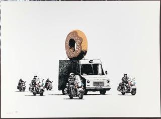 Banksy, 'Donuts (Chocolate)', 2009, Hidden
