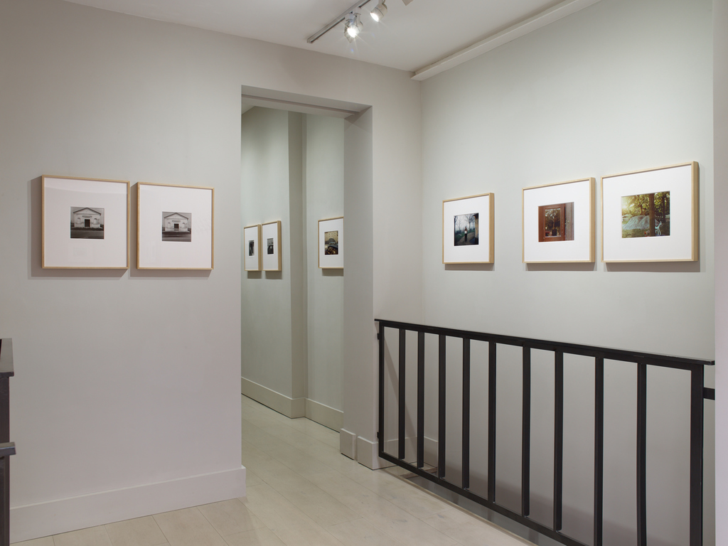 Installation view: Guido Guidi 'Per Strada', 12 Oct - 21 Dec 20218, Large Glass, London. Photo©Stephen White and Co.