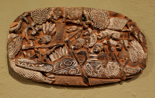 Papua New Guinea Tribal Art, 'Storyboard 2', 1960-1995, Etherton Gallery