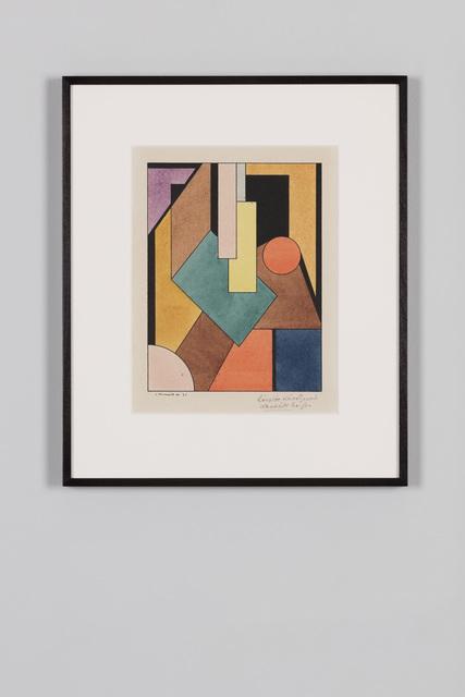 , 'Untitled,' 1921, von Bartha