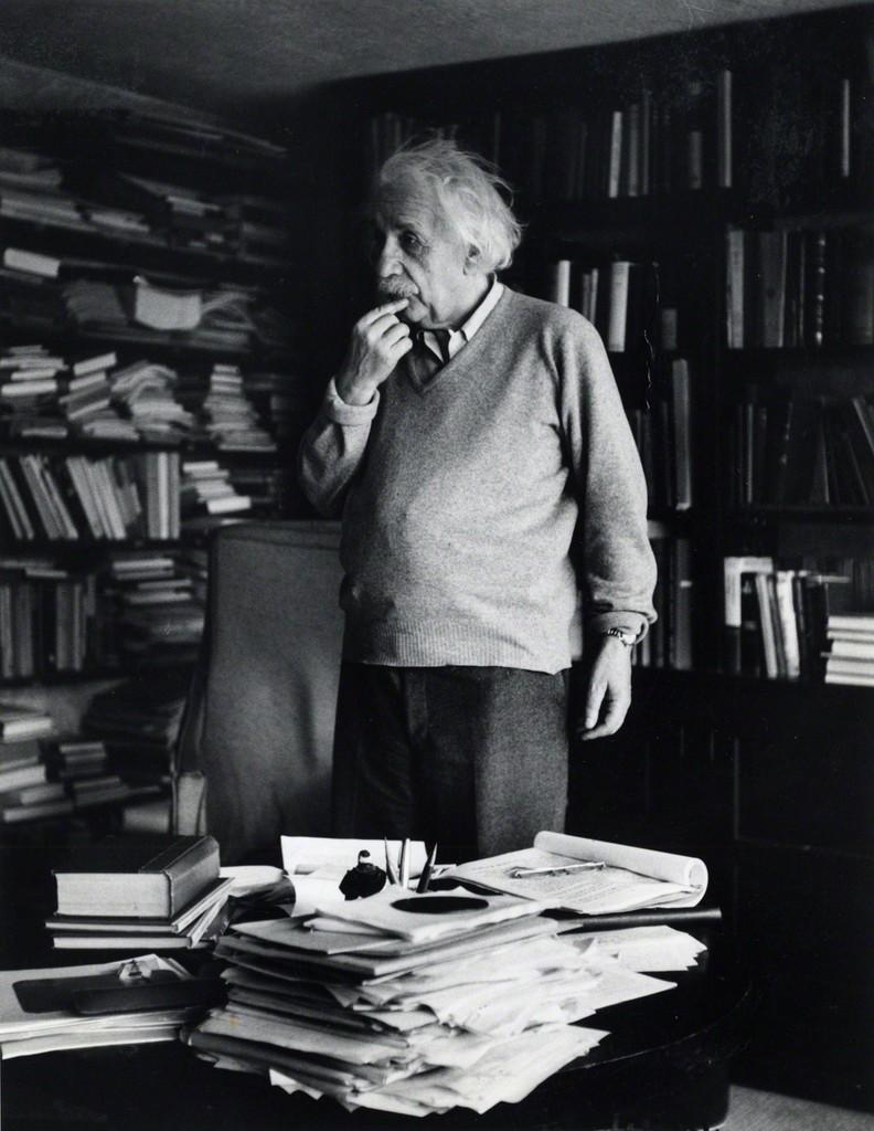 Ernst Haas Albert Einstein Princeton New Jersey 1953