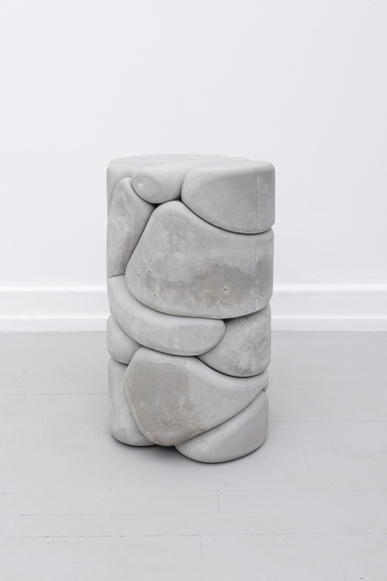, ' Puffy Brick Column,' 2018, Palazzo Monti