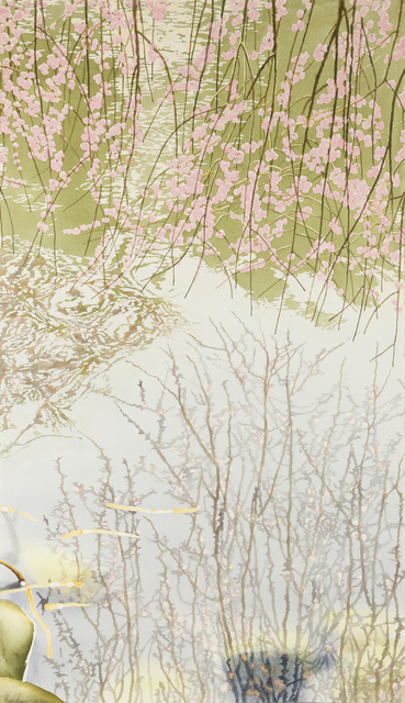 Ben Norris, 'Brooklyn Botanical Garden No. 8: Cherry Blossoms III', 1992, Childs Gallery