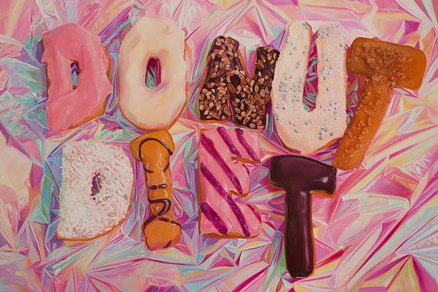 , 'Donut Diet,' 2016, CORDESA