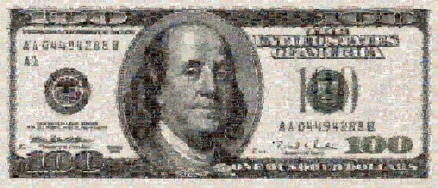 , 'One Hundred Dollar Bill,' , Tangent Contemporary Art