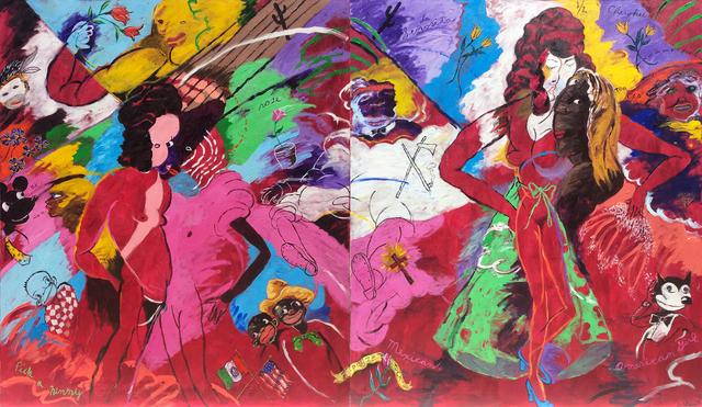 , 'Pick a Ninny Rose,' 1999, Arthur Roger Gallery