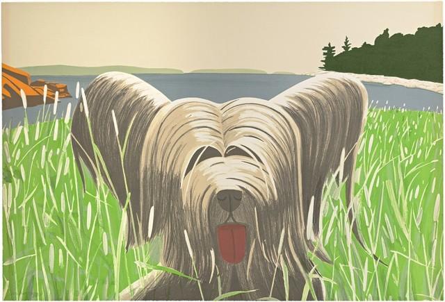 , 'Dog at Duck Trap,' 1973-1975, Gregg Shienbaum Fine Art