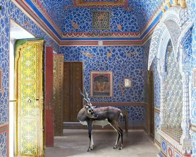 Karen Knorr, 'The Sound of Rain, Junagarh Fort, Bikaner', 2011, Sundaram Tagore Gallery