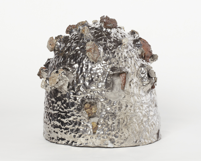 , 'Platinum Decorated Stone-Burst Mountain,' 2012, Alison Jacques Gallery