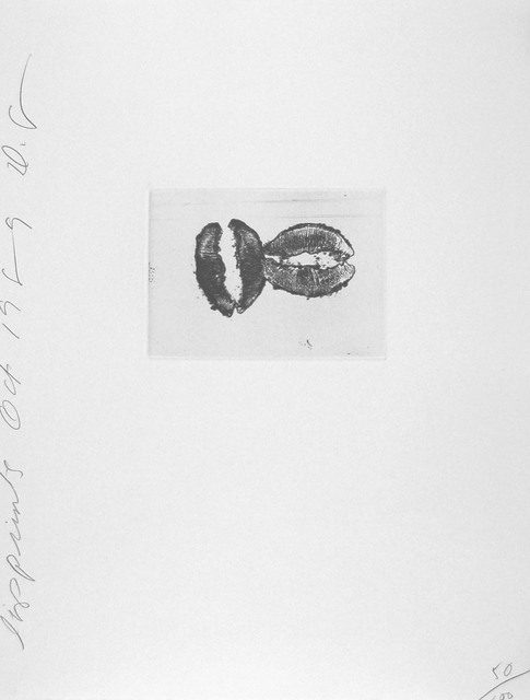 , 'Lip Print #2,' 1989, Zane Bennett Contemporary Art