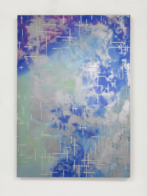 , 'Blue study after Noll,' 2015, Simon Lee Gallery