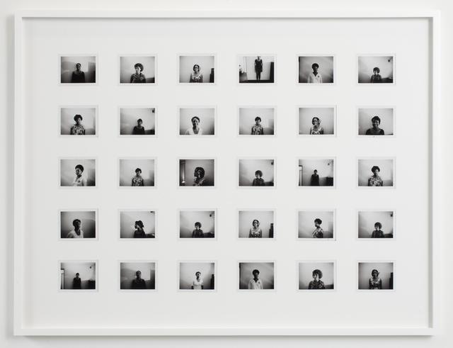 , 'Black and White Polaroid Series #5,' 2012, Kavi Gupta